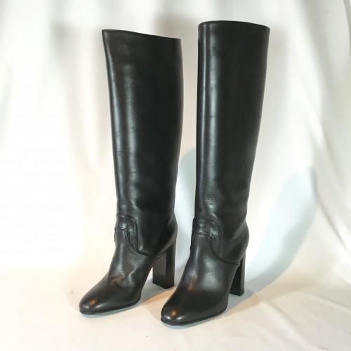 Bottega Veneta Blk Boots front