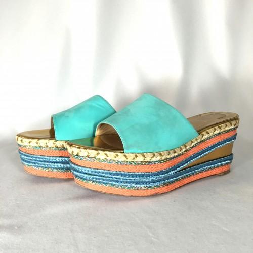 Louboutin shoes espadrille