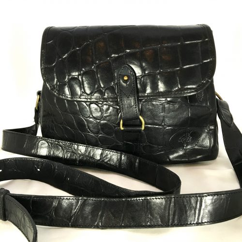 Mulberry Croc Cross Body 1