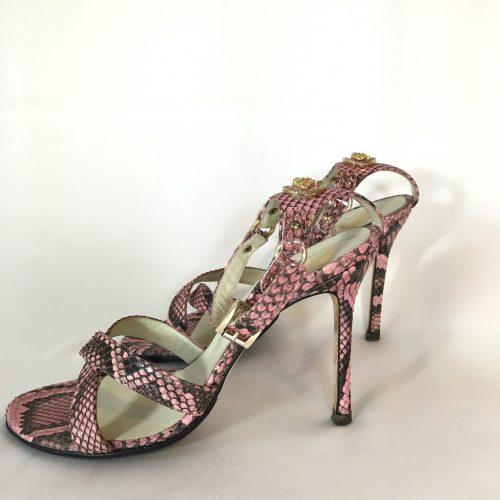 Versace Pink Sandals 1