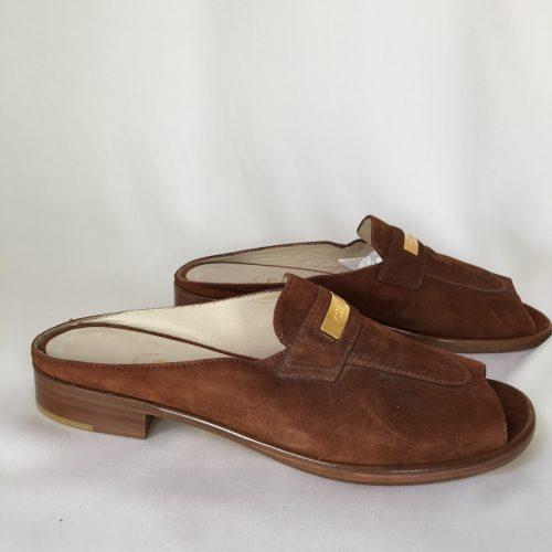 Chanel open toe mules 1