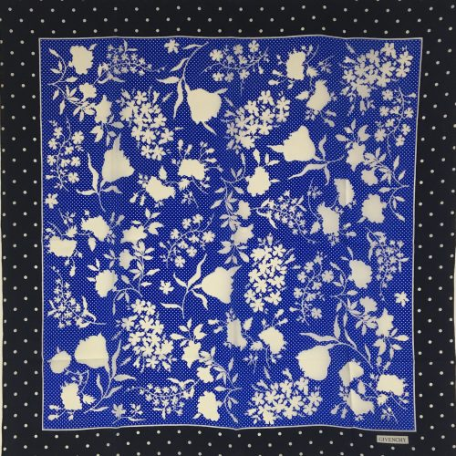 Givenchy silk scarf 1
