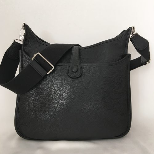 Hermès Evelyne Black shoulder bag 1