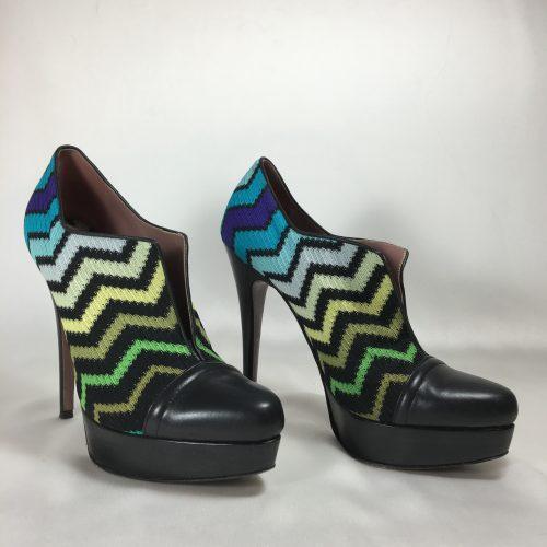 Missoni tessuto stiletto shoe 1
