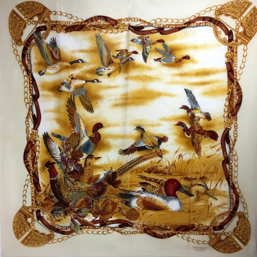 Hermès silk scarf 1