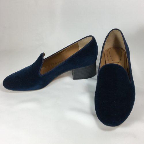 Chloé velvet loafersjpg