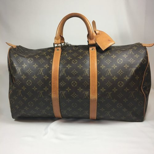 Louis vuitton Keepall 50 in Monogram Canvas