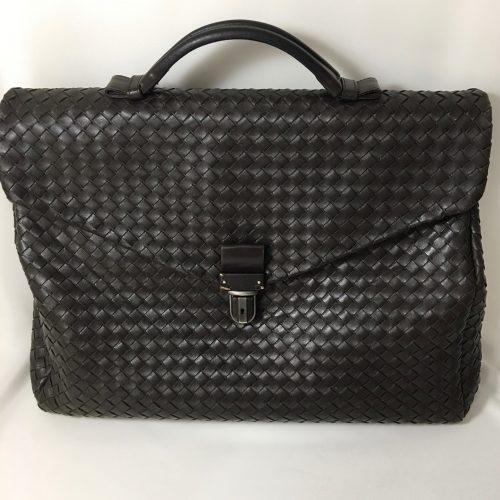 Bottega Veneta Ebano briefcase 11