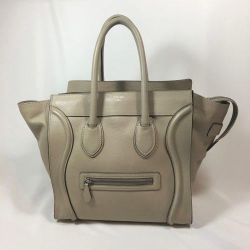 Céline Mini Luggage Tote beige1