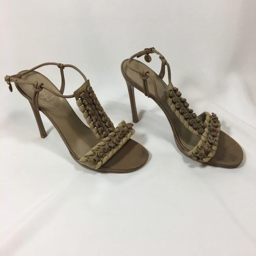 YSL ankle strap sandals1
