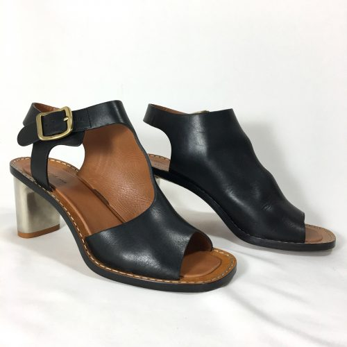 Céline peep toe shoes