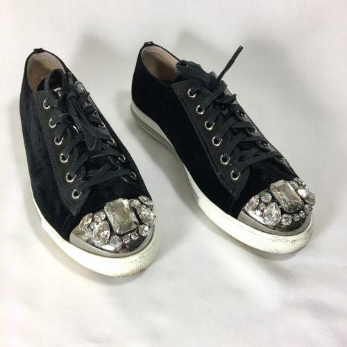 Miu Miu velvet sneakers