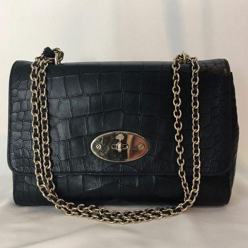 Mulberry Lily Black handbag1