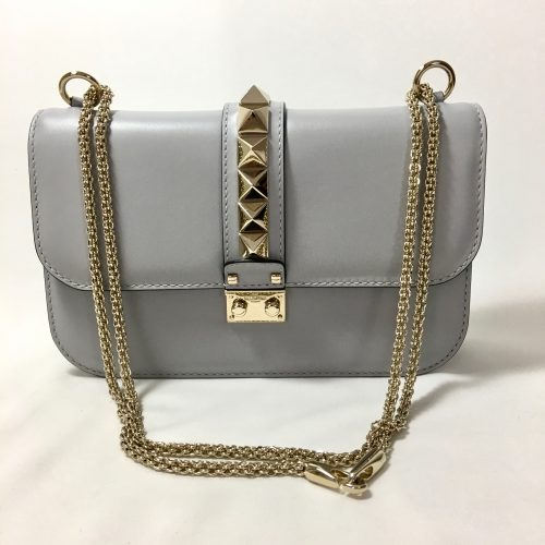 Valentino Rockstud Lock shoulderbag