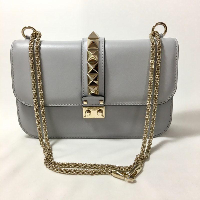 Valentino Rockstud Lock shoulderbag