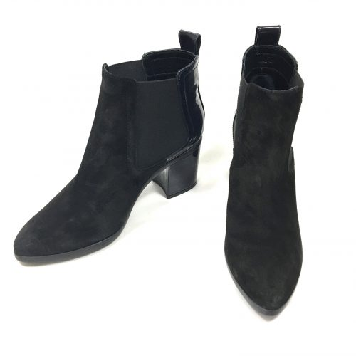 Sonia rykiel patent & suede boots