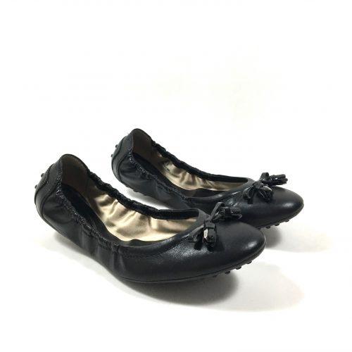 Tod's black ballerina