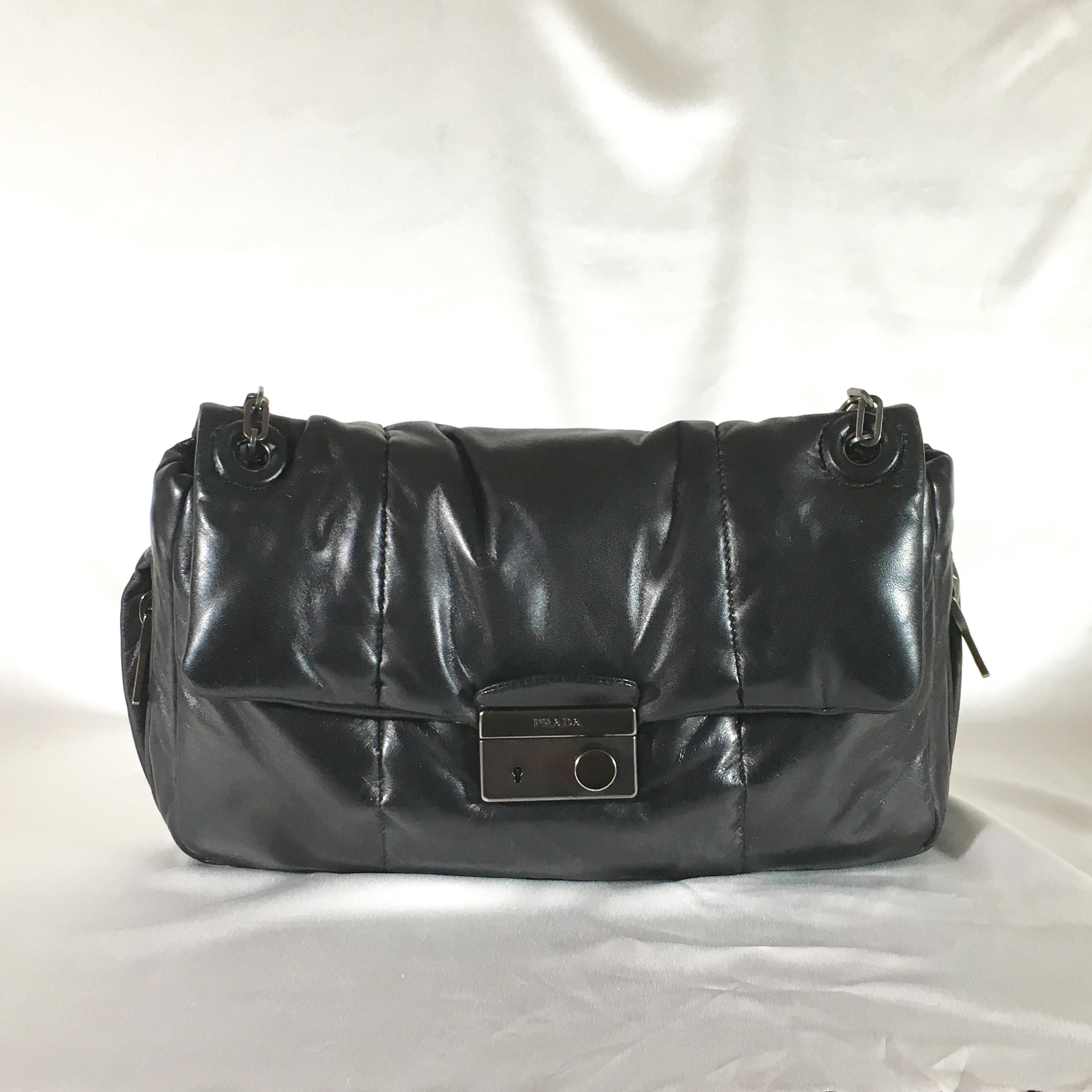 Prada Na Er Shoulder Bag
