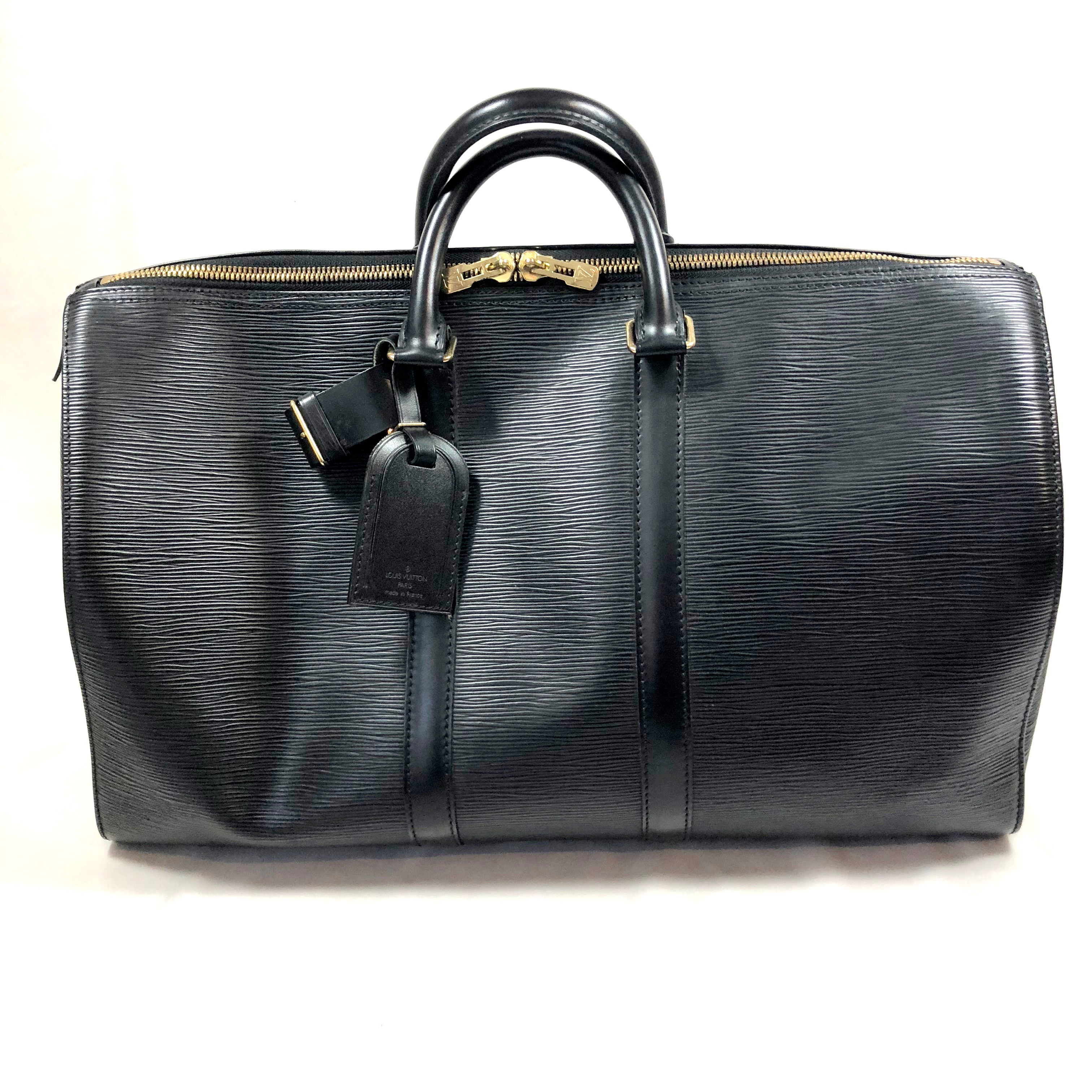 d81f4ee414d1 Louis Vuitton Keepall 45 In Epi Leather Still Fashion