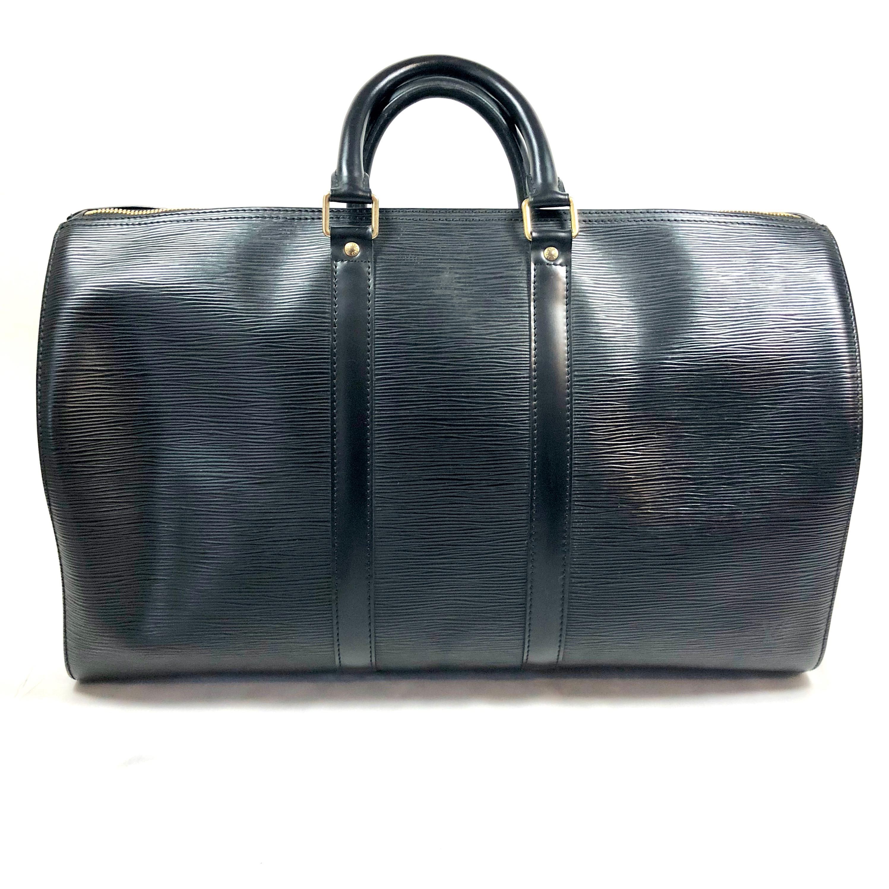 dbba1ead553e Louis Vuitton Keepall 45 In Epi Leather Still Fashion