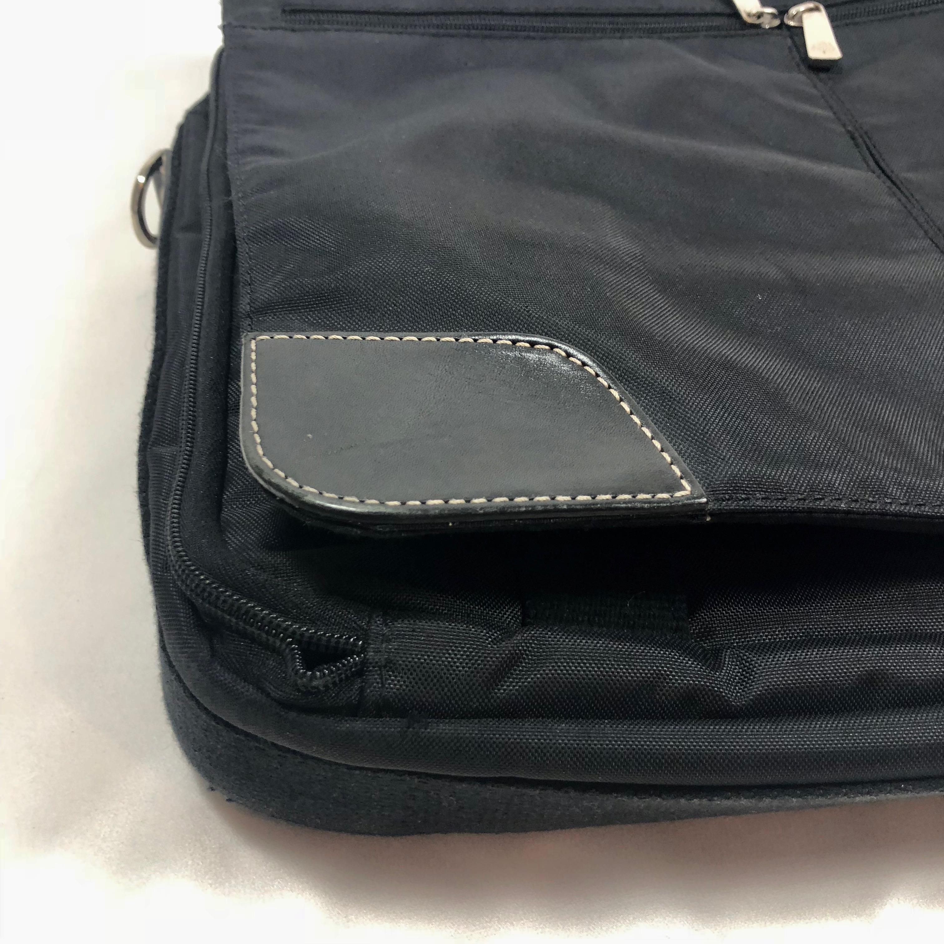 219af858964 ... ireland mulberry expandable black nylon briefcase d256b d5033