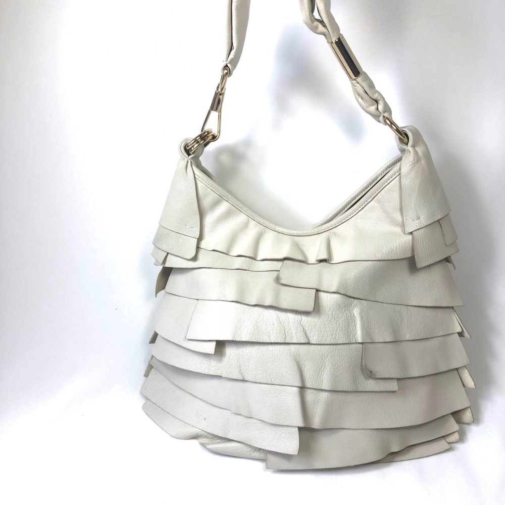 YSL Designer bag Saint Tropez ruffled
