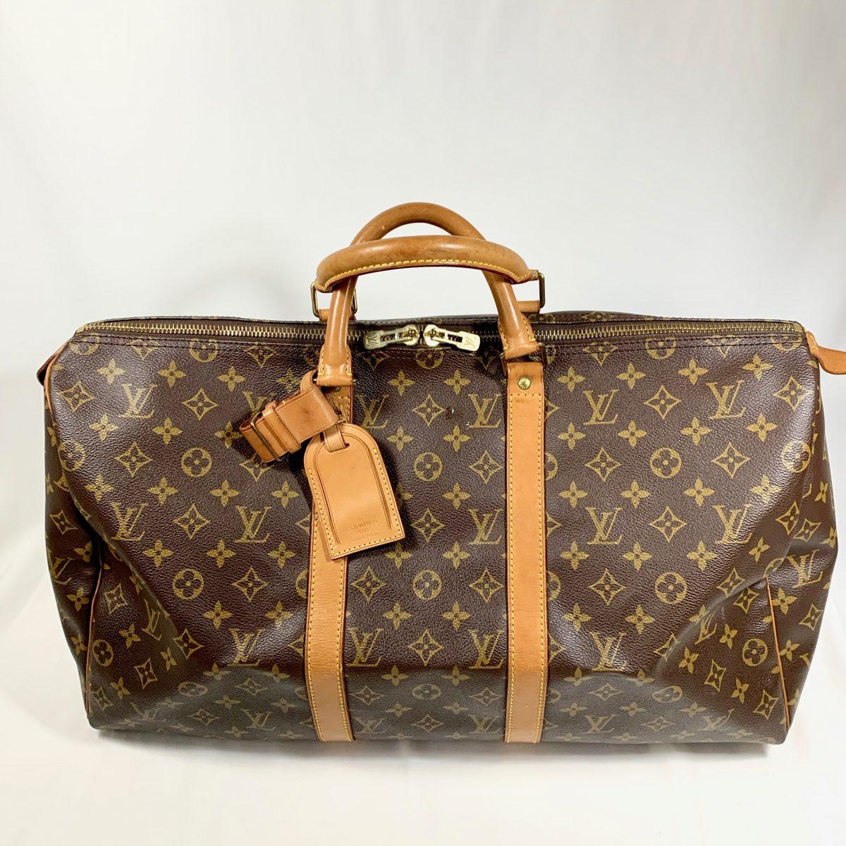 Louis Vuitton Keepall 50 travel designer bag