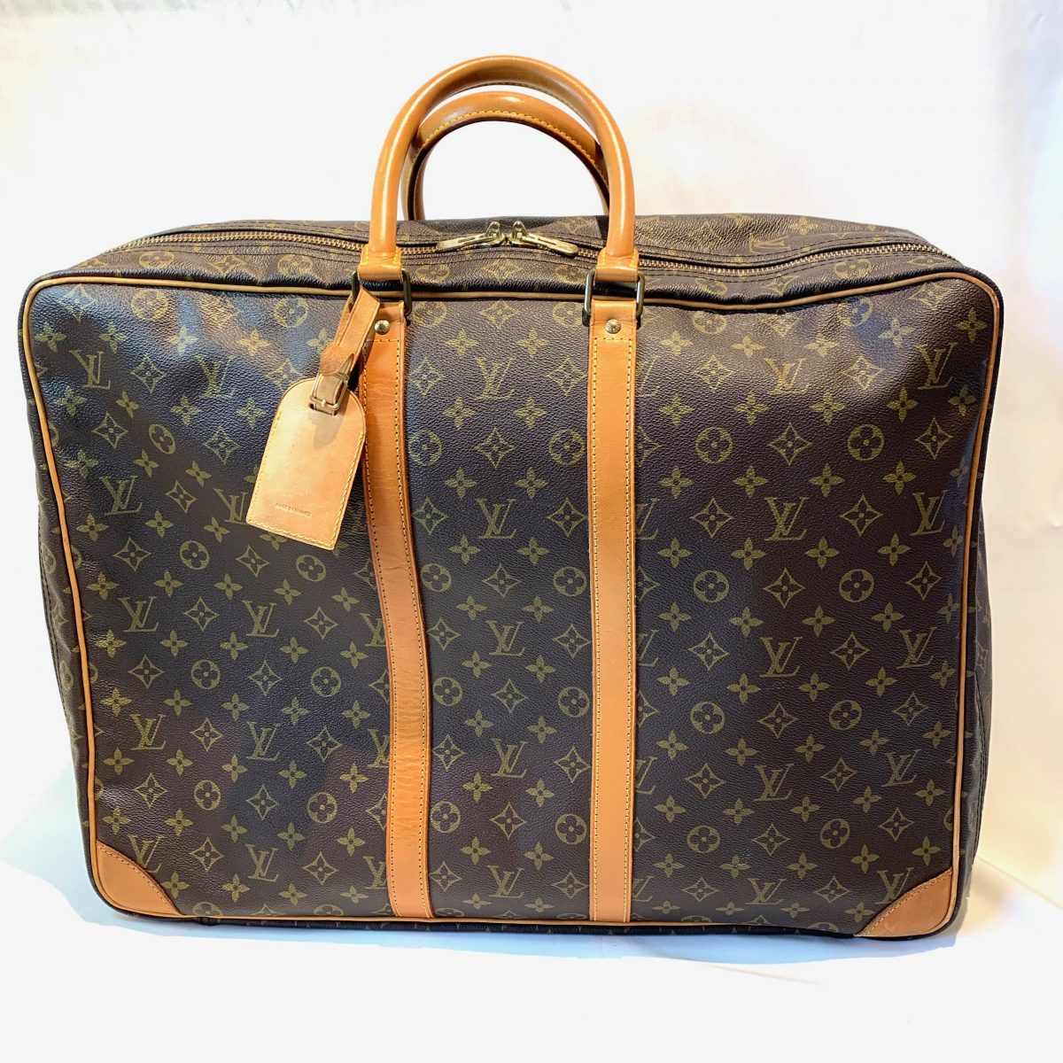 Louis Vuitton Sirius travel suitcase