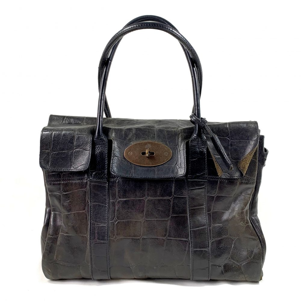 Mulberry designer bag vintage Bayswater shoulder tote