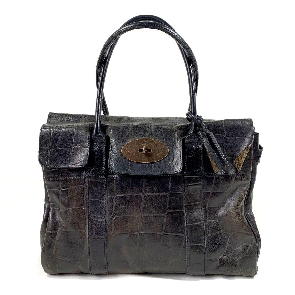 Mulberry designer bag vintage Bayswater shoulder tote