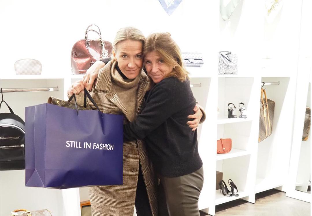 Kristin Kaspersen is happy Still in Fashion shopper