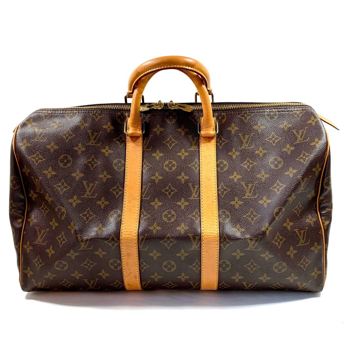 Louis Vuitton Keepall travel designer bag