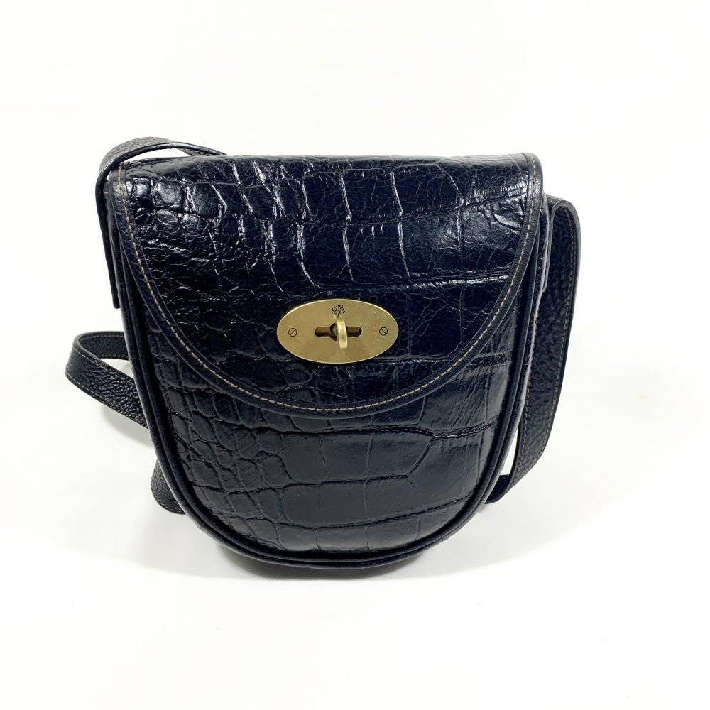 Mulberry saddle crossbody designer bag