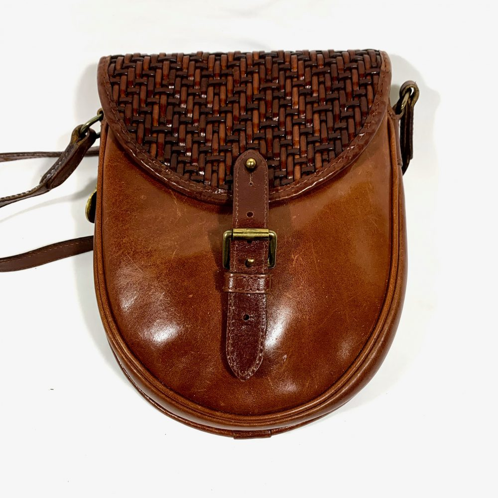 Mulberry brown small crossbody designer bag