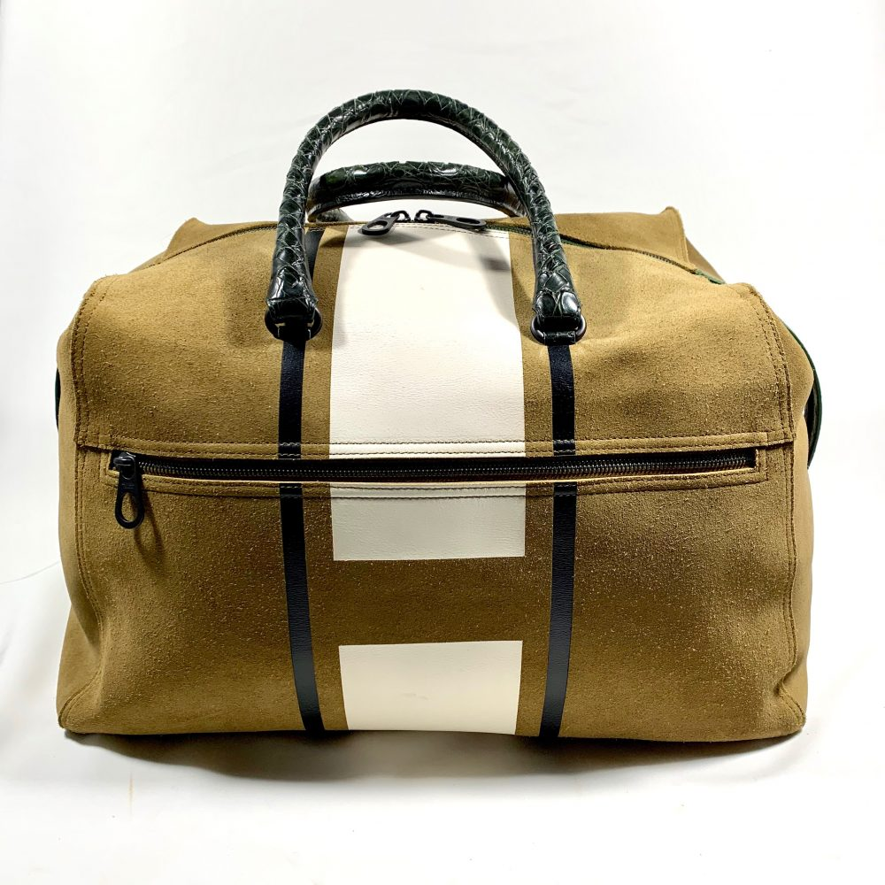 Bottega Veneta designer duffle bag