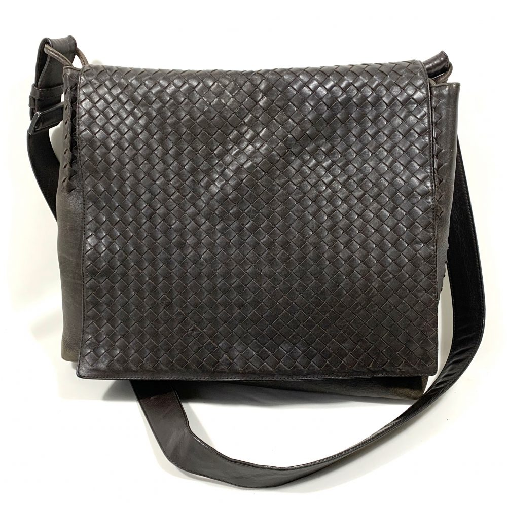 Bottega Veneta leather designer bag