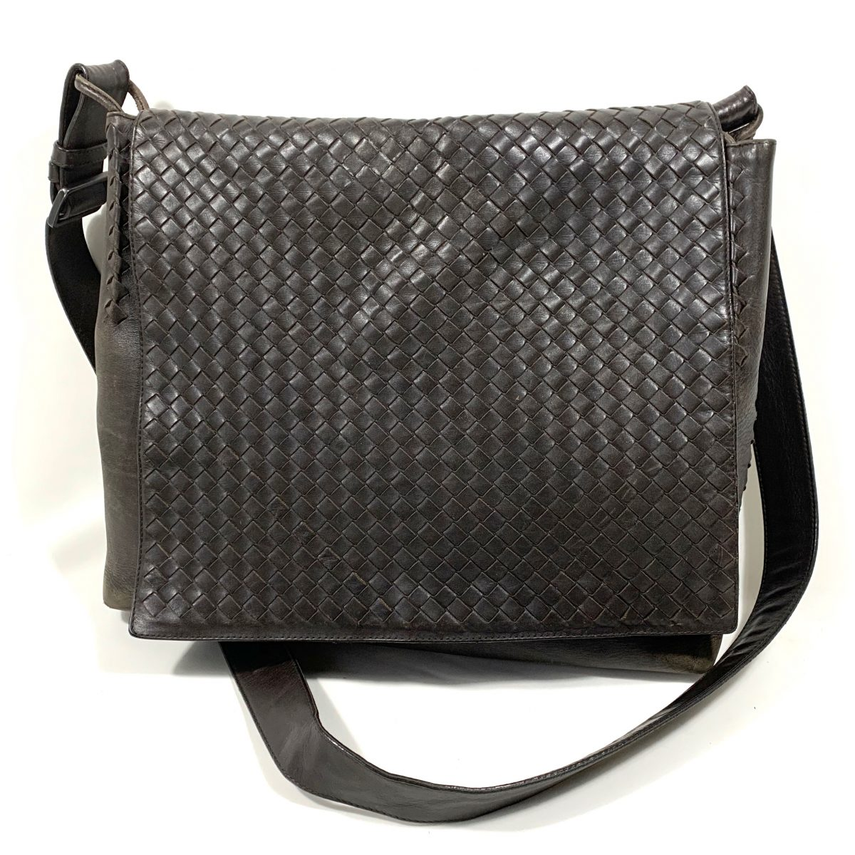 Bottega Veneta leather designer bag