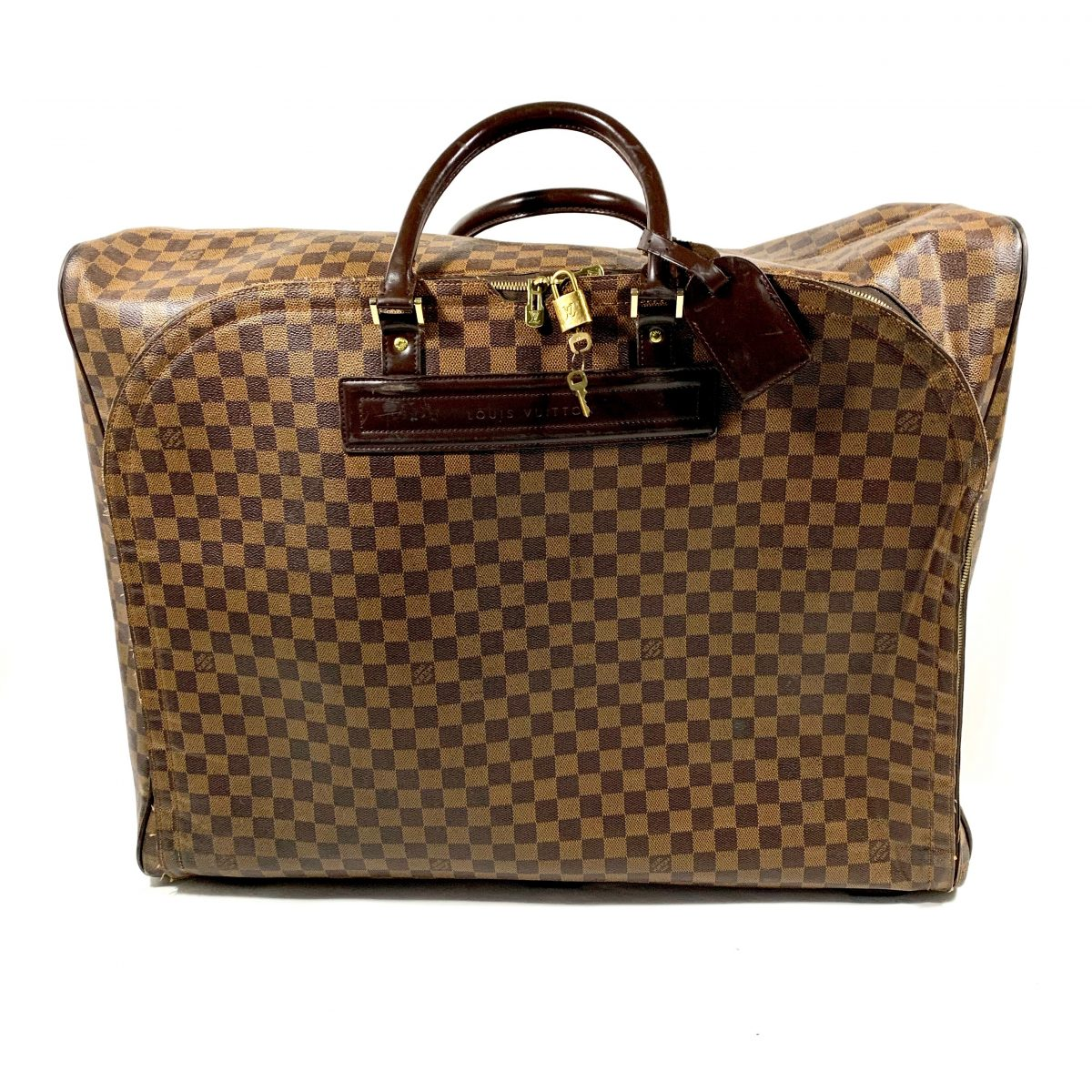 Louis Vuitton designer travel bag