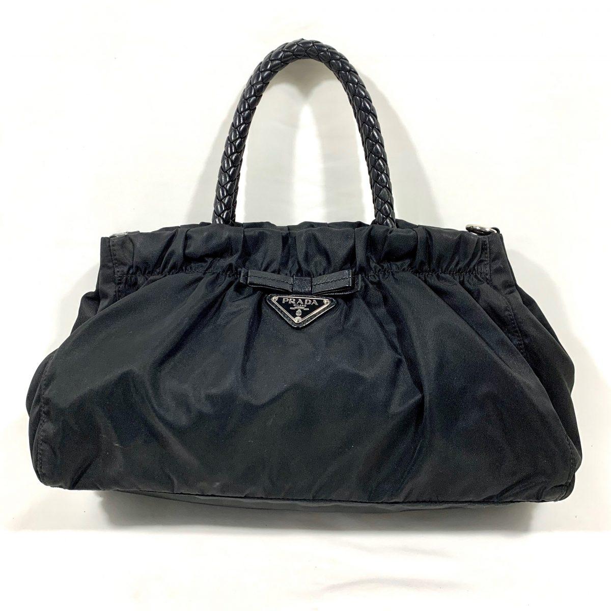 Prada designern nylon handbag
