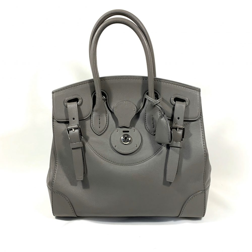 Ralph Lauren grey designer bag