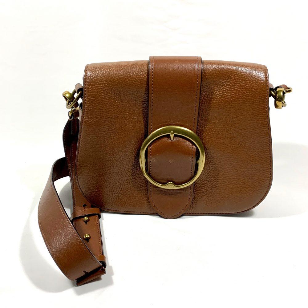 Polo Ralph Lauren saddle designer bag