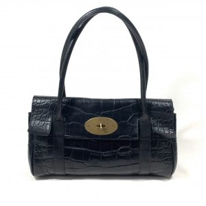 MULBERRY SMALL BAYSWATER EMBOSSED LEATHER