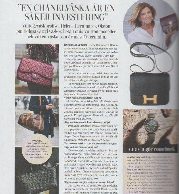 En Chanelväska är en säker investering