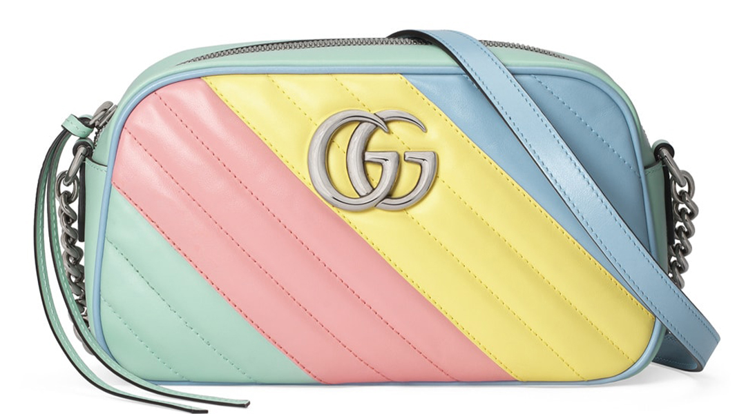 Gucci Marmont in Pastel this Spring