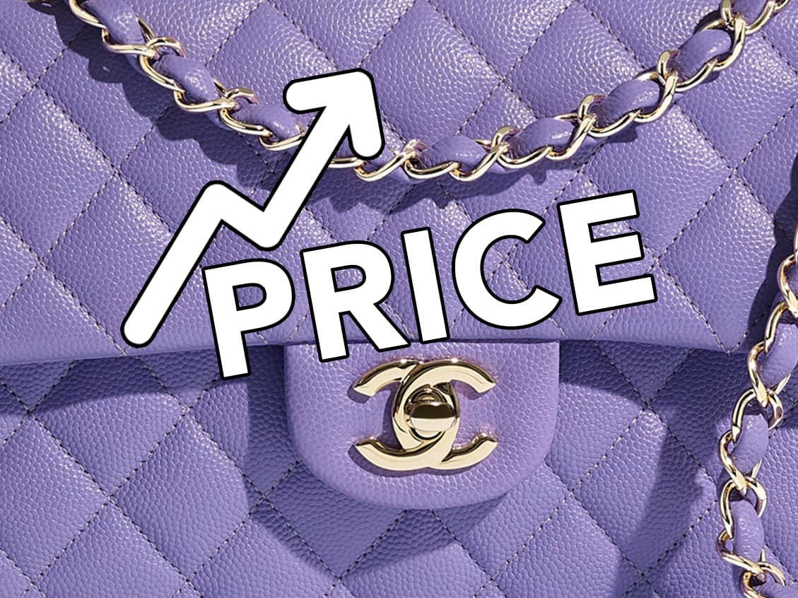 Chanel increase the price of their bags
