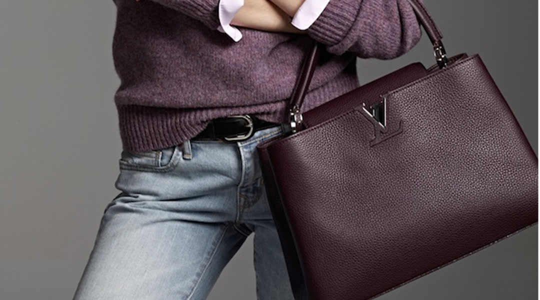 Louis Vuitton's Capucines bag is named after a street.