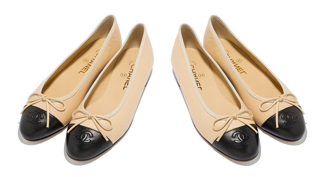 Chanel Ballerna Flats