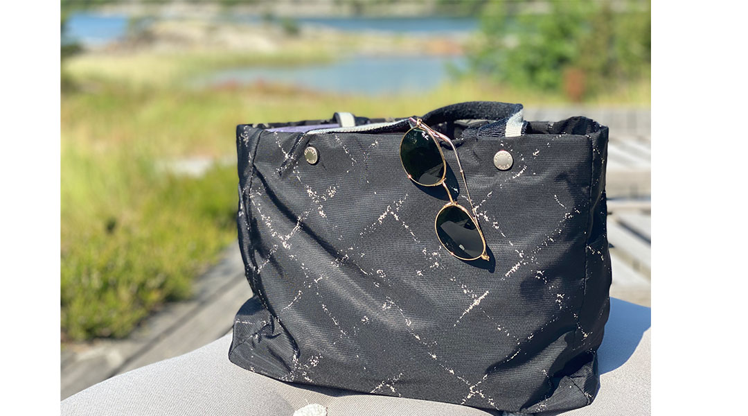 Chanel Old travel Line tote
