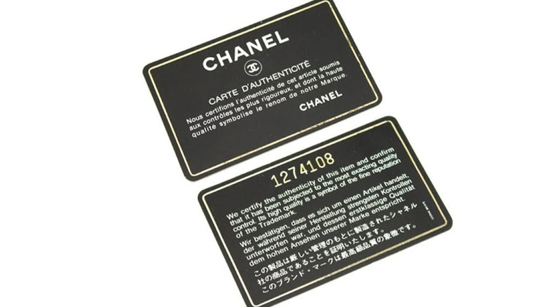 Chanel Ditches its Authentication Card